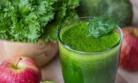 Heerlijk en simpel: super groen sapje met spinazie