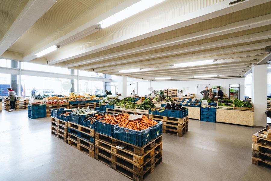 Shop biologische producten bij BE O Markt